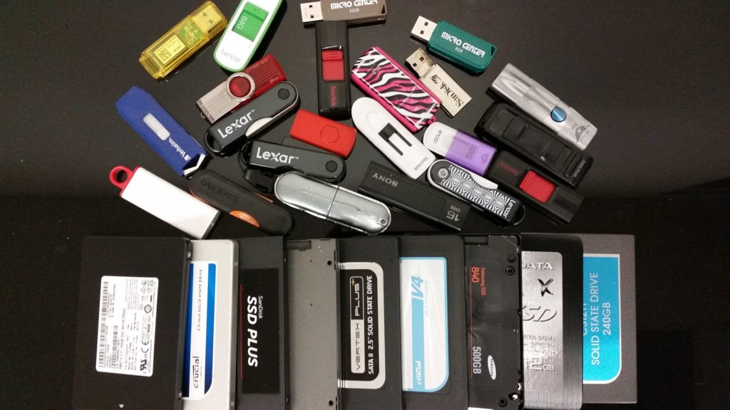 Thumb USB Flash drive data recovery services
