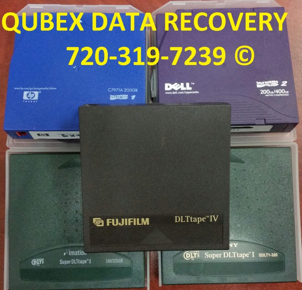 BACKUP TAPE DATA RECOVERY RESTORATION MIGRATION