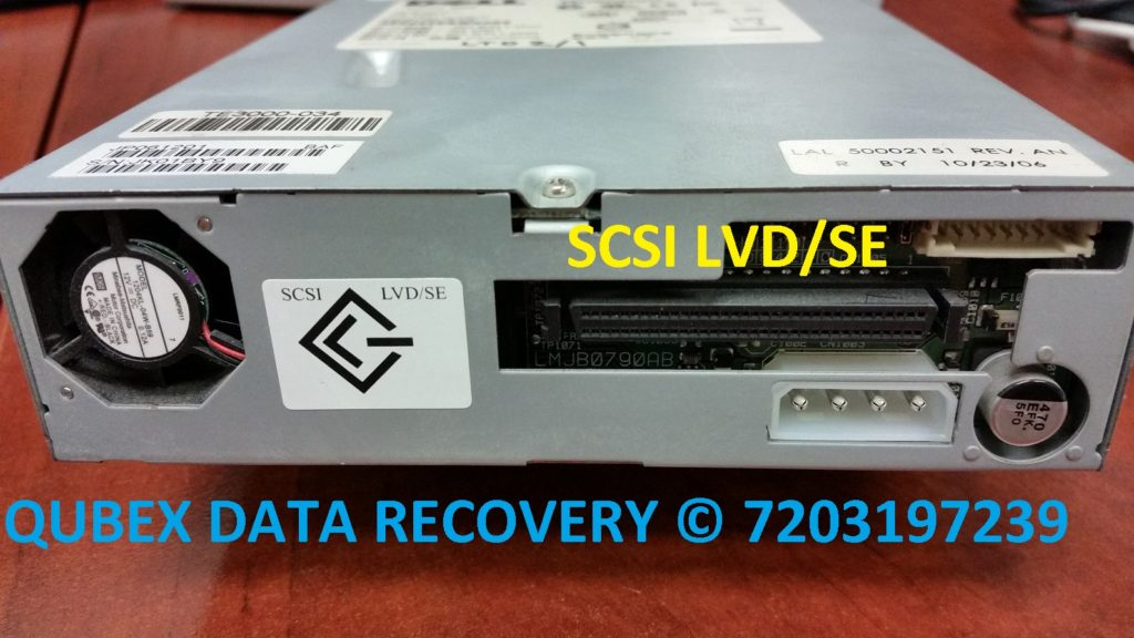BACKUP TAPE DRIVE SCSI LVD/SE BUS