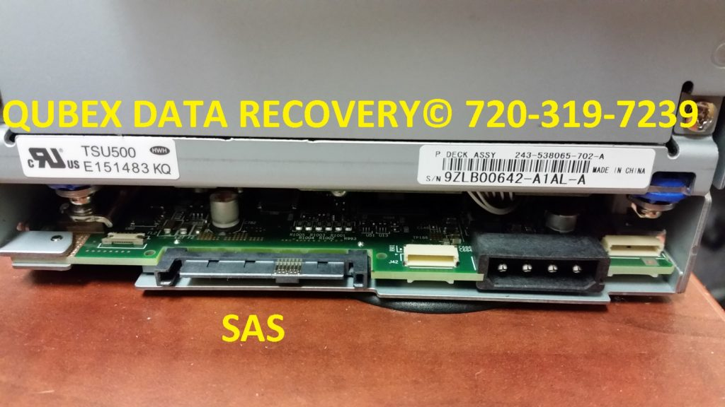 BACKUP TAPE DRIVE SAS BUS