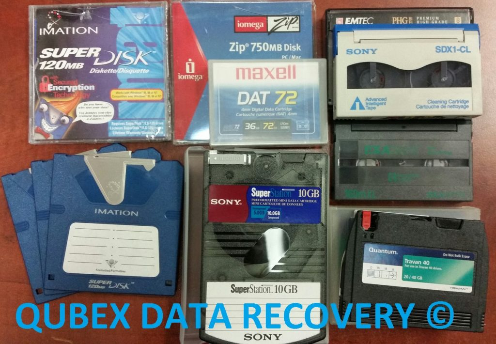 BACKUP TAPE DATA RECOVERY, RESTORATION, MIGRATION