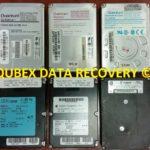 Vintage old hard drive